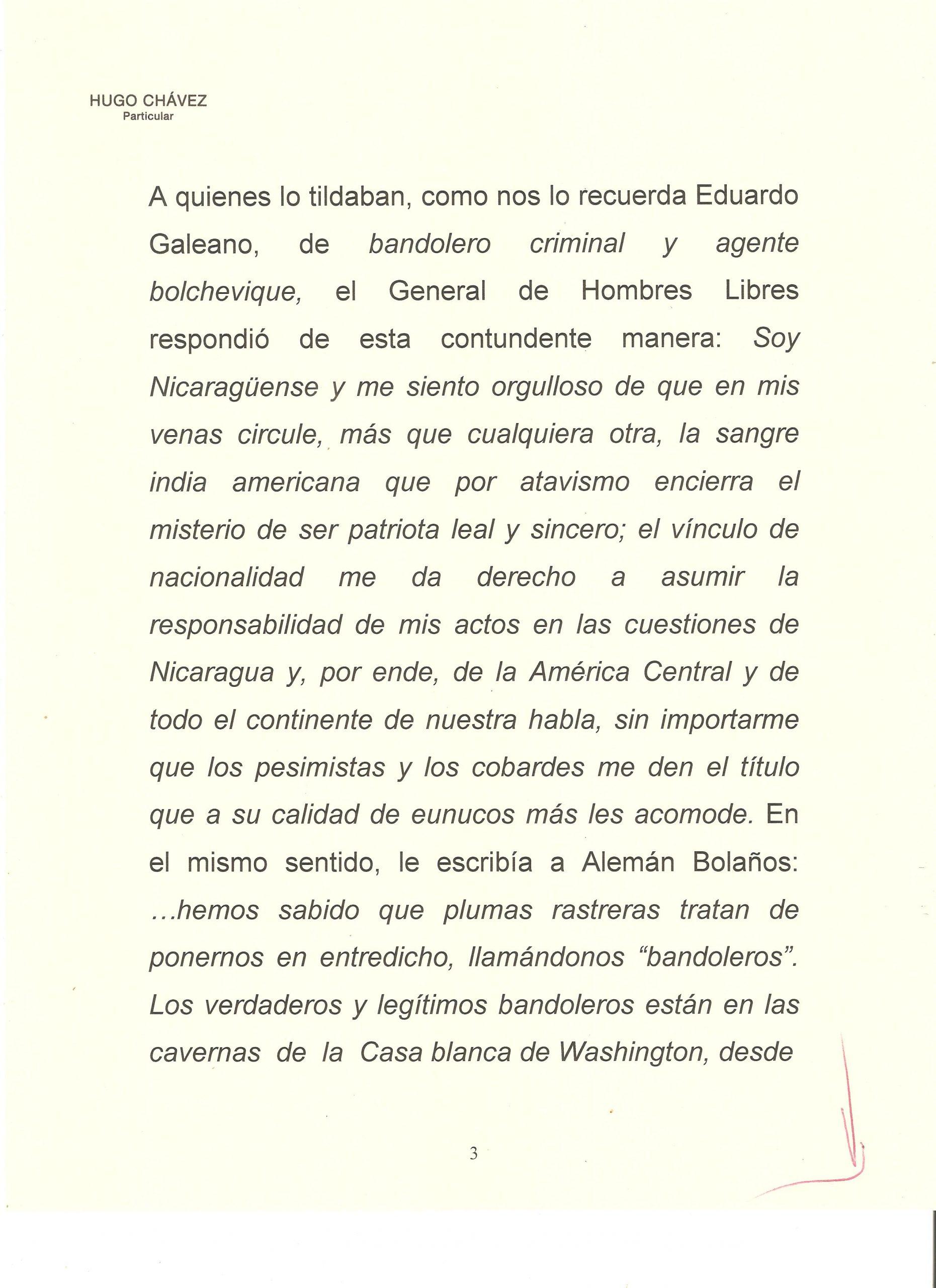 PROLOGO DE HUGO CHAVEZ A WALTER 3